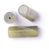 Korean Jade 6X12mm Round Tube Semi-Precious